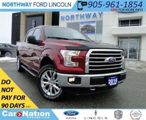 Used 2016 Ford F-150 XLT | NAV | REAR CAM | HEATED SEATS | for sale in Brantford, ON