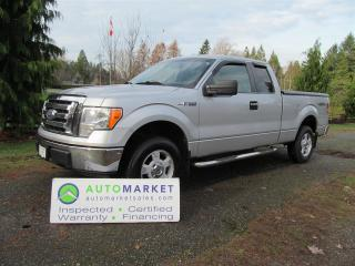 Used 2009 Ford F-150 XLT, 4X4, 5.4, INSP, WARR, TONNEAU for sale in Surrey, BC