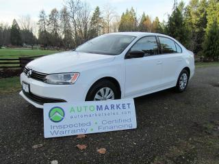 Used 2013 Volkswagen Jetta AUTO, P/GROUP, INSP, WARR, GREAT FINANCING for sale in Surrey, BC