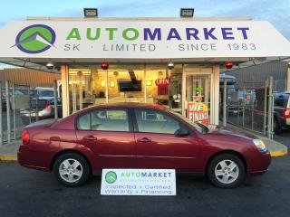 Used 2004 Chevrolet Malibu LS AUTO FINANCING FOR ANYBODY! for sale in Langley, BC