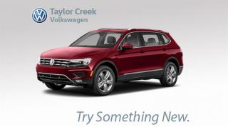 New 2018 Volkswagen Tiguan Highline 2.0T 8sp at w/Tip 4MOTION for sale in Orleans, ON