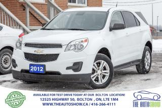 Used 2012 Chevrolet Equinox LS BLUETOOTH NO ACCIDENT SERVICE RECORD Flex-fuel for sale in Caledon, ON