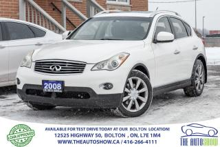 Used 2008 Infiniti EX35 EX35 BLUETOOTH BACK UP SENSOR ONE OWNER for sale in Caledon, ON