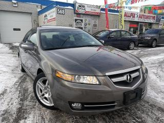 Used 2007 Acura TL w/NAVI Pkg_Backup Camera_Leather_Sunroof for sale in Oakville, ON