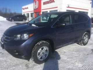Used 2014 Honda CR-V LX AWD for sale in Smiths Falls, ON