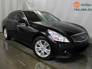 Used 2012 Infiniti G37 X All Wheel Drive / Sunroof / Heated Front Seats for sale in Edmonton, AB