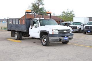 Used 2005 Chevrolet Silverado 3500 6.6L Diesel 12FT|OPEN SUNDAY 10-6 for sale in Brampton, ON