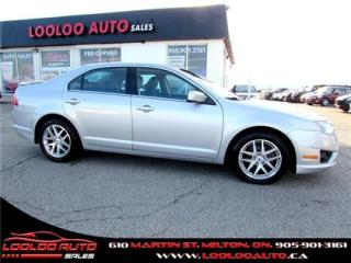 Used 2010 Ford Fusion SEL 2.5L Bluetooth Certified 2YR Warranty for sale in Milton, ON