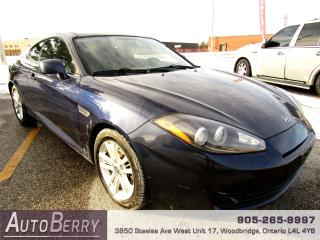 Used 2008 Hyundai Tiburon GS - 2.0L - 5 Speed for sale in Woodbridge, ON