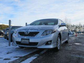 Used 2010 Toyota Corolla SPORT / SERVICE HISTORY / ACCIDENT FREE for sale in Newmarket, ON