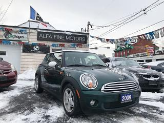 Used 2009 MINI Cooper AUTO/PANOROOF ((CERTIFIED)) for sale in Hamilton, ON
