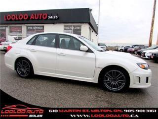 Used 2011 Subaru Impreza WRX STi STI TURBO AWD 6 SPEED CERTIFIED 2 YR WARRANTY for sale in Milton, ON