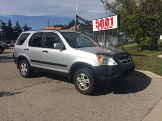 Used 2004 Honda CR-V AUTO,AWD,SAFETY+YEARS WARRANTY INCLUDED for sale in North York, ON