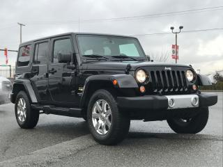 Used 2015 Jeep Wrangler Sahara Unlimited for sale in Langley, BC