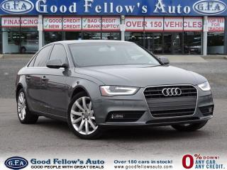 Used 2014 Audi A4 KOMFORT, 4WD, HEATED SEAT, SUNROOF, TURBO for sale in North York, ON
