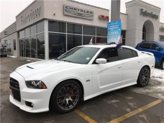 Used 2014 Dodge Charger SRT8.Fully Loaded..Red Interior for sale in Burlington, ON