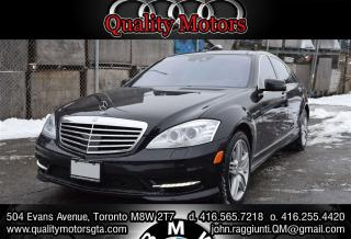 Used 2012 Mercedes-Benz S-Class S 550 4MATIC Long Wheel Base for sale in Etobicoke, ON