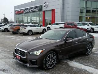 Used 2015 Infiniti Q50 AWD Sport for sale in Mississauga, ON