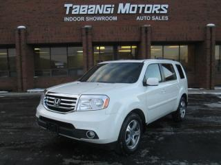 Used 2014 Honda Pilot EX-L LEATHER SUNROOF DVD REAR CAMERA!! for sale in Mississauga, ON