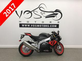 Used 2017 Aprilia RSV4 RR Free Delivery in the GTA** for sale in Concord, ON