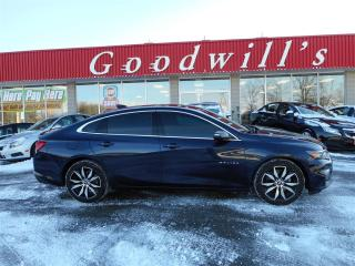 Used 2017 Chevrolet Malibu LT! HEATED LEATHER SEATS! SUNROOF! for sale in Aylmer, ON
