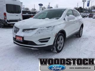 Used 2015 Lincoln MKC Base AWD, White Platinium for sale in Woodstock, ON