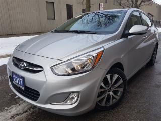 Used 2017 Hyundai Accent SE-Sunroof-alloys-heated seats for sale in Mississauga, ON