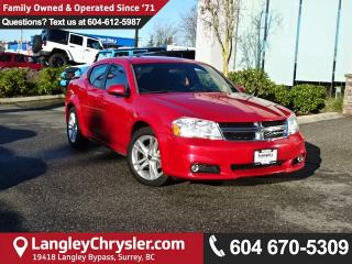 Used 2013 Dodge Avenger SXT <b>*ACCIDENT FREE*HEATED SEATS*AC *<b> for sale in Surrey, BC