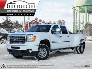 Used 2011 GMC Sierra 3500 Denali Crew Cab DRW 4WD for sale in Stittsville, ON
