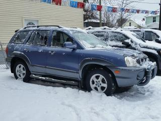 Used 2003 Hyundai Santa Fe Sport GLS AWD for sale in St Catharines, ON
