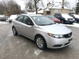 Used 2010 Kia Forte SAFETY & WARRANTY INCLUDED for sale in Cambridge, ON