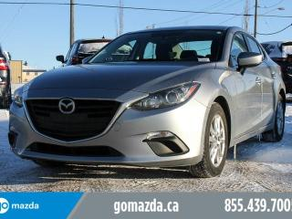 Used 2016 Mazda MAZDA3 GS POWER OPTIONS BACK UP CAMERA ACCIDENT FREE for sale in Edmonton, AB