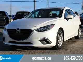 Used 2014 Mazda MAZDA3 GX-SKY POWER OPTIONS ACCIDENT FREE EXTRA LOW MILEAGE for sale in Edmonton, AB