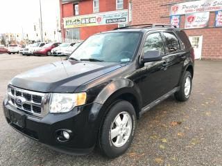 Used 2010 Ford Escape XLT/ONE OWNER/NO ACCIDENT/SAFETY/WARRANTY INCLUDED for sale in Cambridge, ON