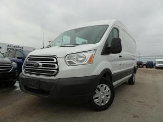 Used 2017 Ford Transit Cargo Van 150 MR VAN POWER WINDOWS/LOCKS/MIRRORS for sale in Midland, ON