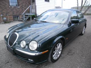 Used 2001 Jaguar S-Type CERTIFIED + FREE 6 MONTH WARRANT for sale in Ajax, ON