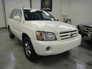 Used 2007 Toyota Highlander V6, 4WD, LEATHER, A/C for sale in North York, ON