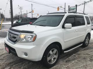 Used 2011 Honda Pilot EX-L l Back Up Cam l AWD l Leather for sale in Waterloo, ON