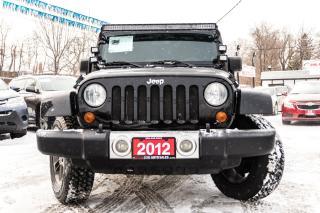 Used 2012 Jeep Wrangler Sahara for sale in Brampton, ON