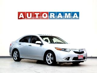 Used 2012 Acura TSX leather sunroof for sale in North York, ON