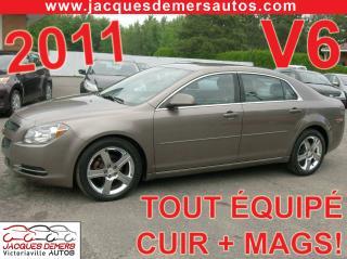Used 2011 Chevrolet Malibu V6 for sale in Victoriaville, QC