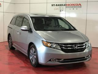 Used 2016 Honda Odyssey TOURING + DVD + CUIR + TOIT OUVRANT for sale in St-Basile-le-Grand, QC