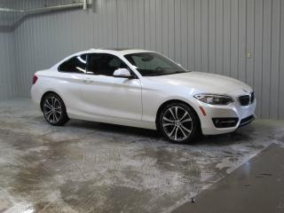 Used 2014 BMW 2 Series 228i coupé *CUIR-GPS-TOIT* for sale in Levis, QC