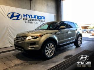 Used 2014 Land Rover Evoque PRESTIGE + GARANTIE + NAVI + CUIR + TOIT for sale in Drummondville, QC
