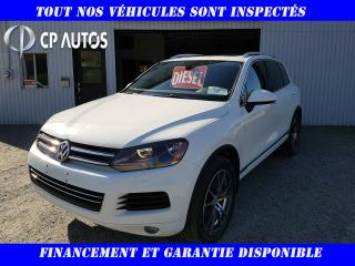 Used 2013 Volkswagen Touareg 4dr TDI for sale in Vallée-Jonction, QC