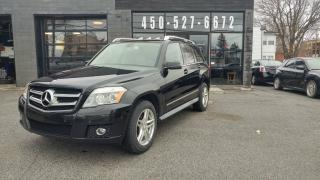 Used 2010 Mercedes-Benz GLK350 TOIT PANORAMIQUE - MARCHE-PIED for sale in Beloeil, QC