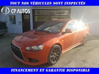 Used 2009 Mitsubishi Lancer Berline 4 portes Ralliart for sale in Vallée-Jonction, QC
