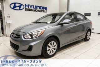 Used 2017 Hyundai Accent LIQUIDATION MONSTRE + MEILLEUR PRIX GARA for sale in Drummondville, QC