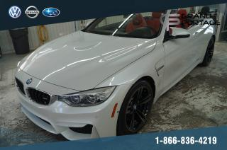 Used 2016 BMW M4 Cabrio DCT Premium Executive ''M Exhaust for sale in Rivière-Du-Loup, QC