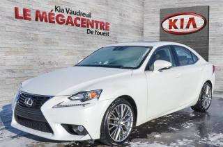 Used 2014 Lexus IS 250 LUXURY AWD for sale in Vaudreuil-Dorion, QC
